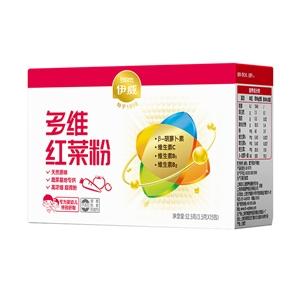 伊威多维红色蔬菜粉3.5g*15包(专为婴幼儿特别研制) 浓缩营养 双重搭配
